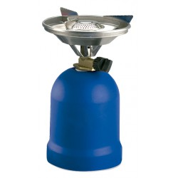 Camping stove equipped with stop winds. Traditional ignition