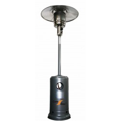 Patio heater in black color