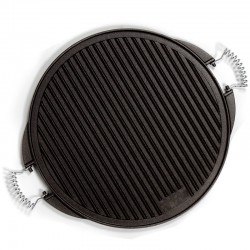Cast Iron round Griddle . 52 cm