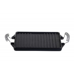 Cast Iron rectangular Griddle . 27x21