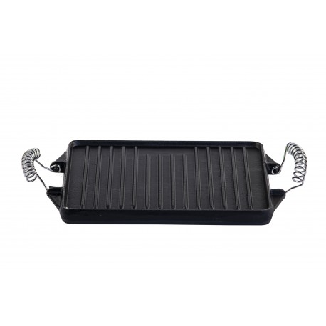 Cast Iron rectangular Griddle .