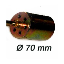 Nozzle 70 mm. Spare part for scorching torch reference 240157.